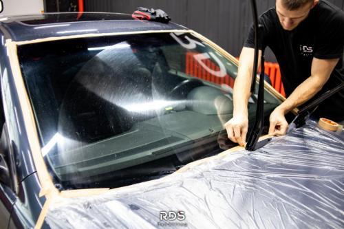 Маскировка стекла перед полировкой